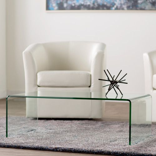 Arviso Sled Coffee Table With Images Coffee Table Stylish