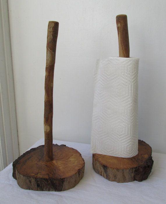 Treibholz-Papier-Handtuchhalter, schäbigen Chic rustikale Wohnkultur #papertowelholders