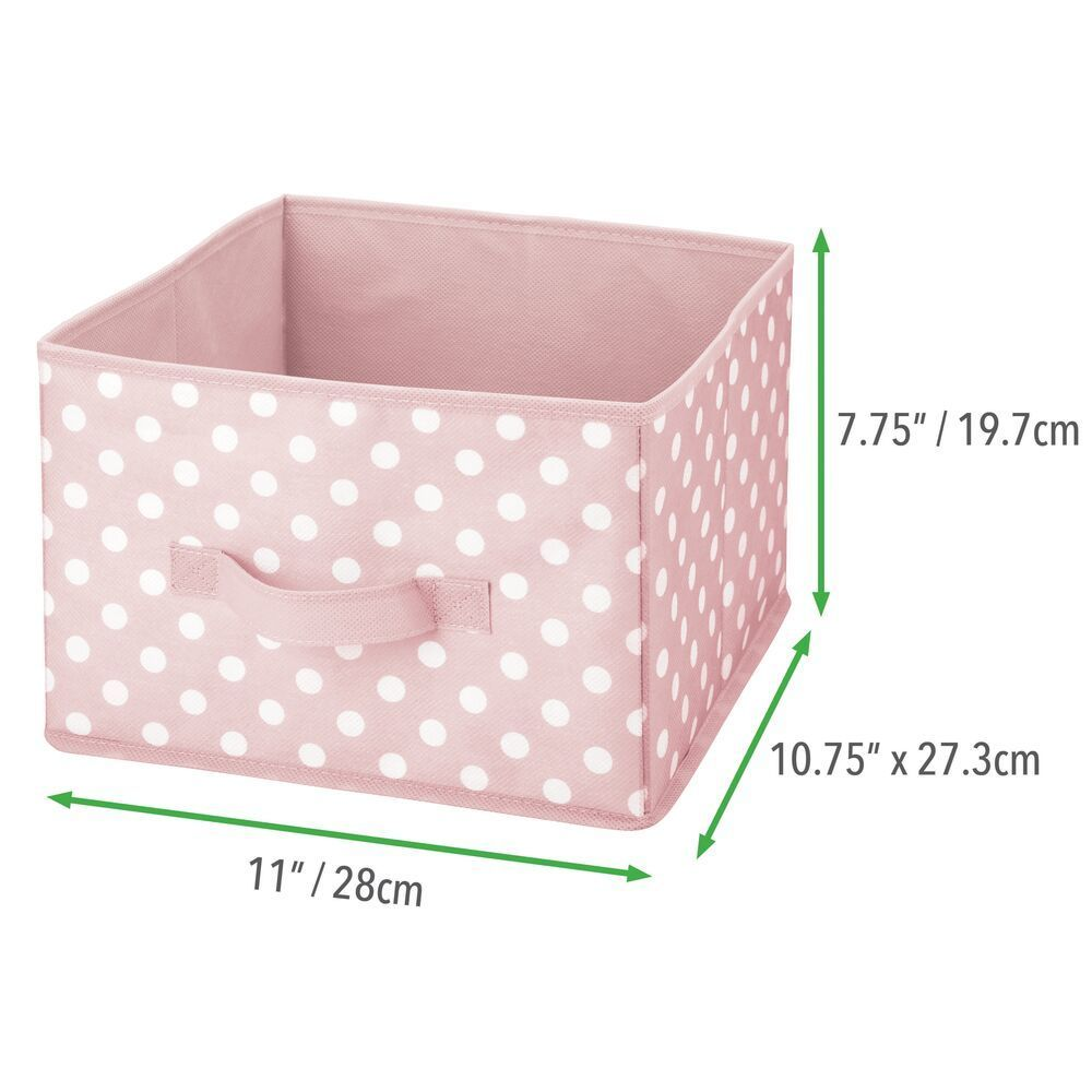 Fabric Storage Bin For Baby Kids Closet 11 X 10 75 X 8 In 2020 Fabric Storage Bins Closet Storage Closet Storage Bins