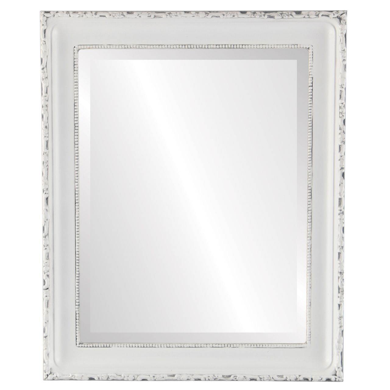 Antique White Rectangle Mirrors from $136 | Free Shipping
