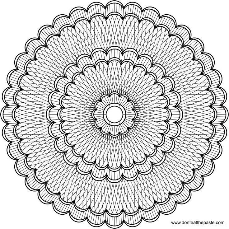 Mandala Coloring Pages Advanced Level - http://east-color.com ...