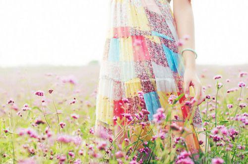a stroll through the meadow