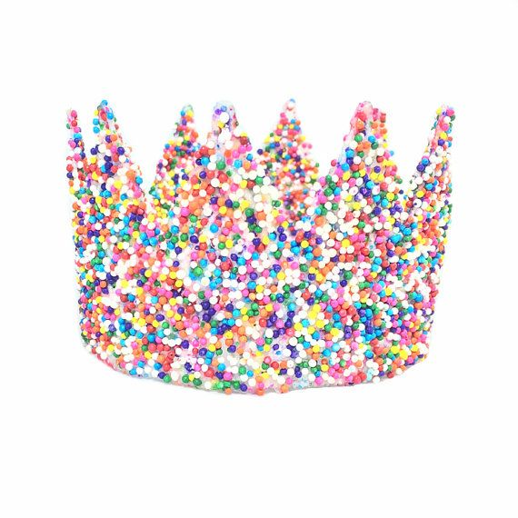SPRINKLES| Unicrown Ice Cream Party Unicorn flower lace crown headband