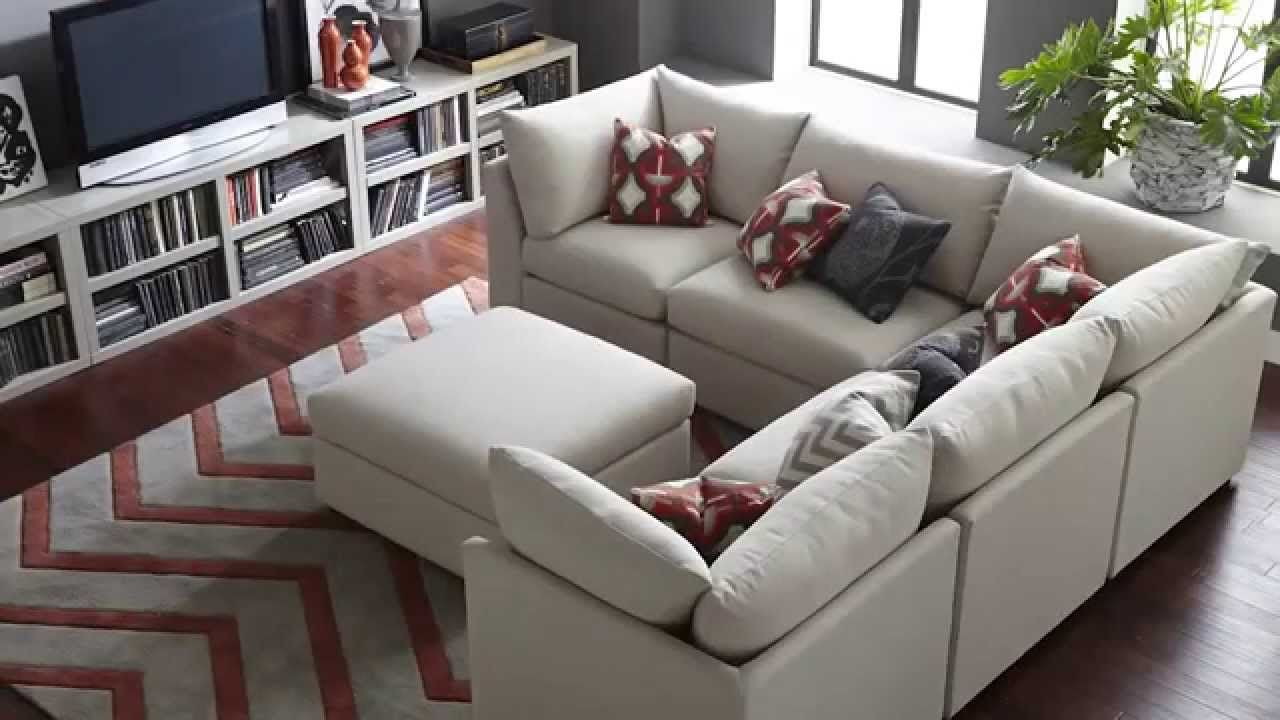 The Beckham Sectional Sofa By Bassett Furniture Modular