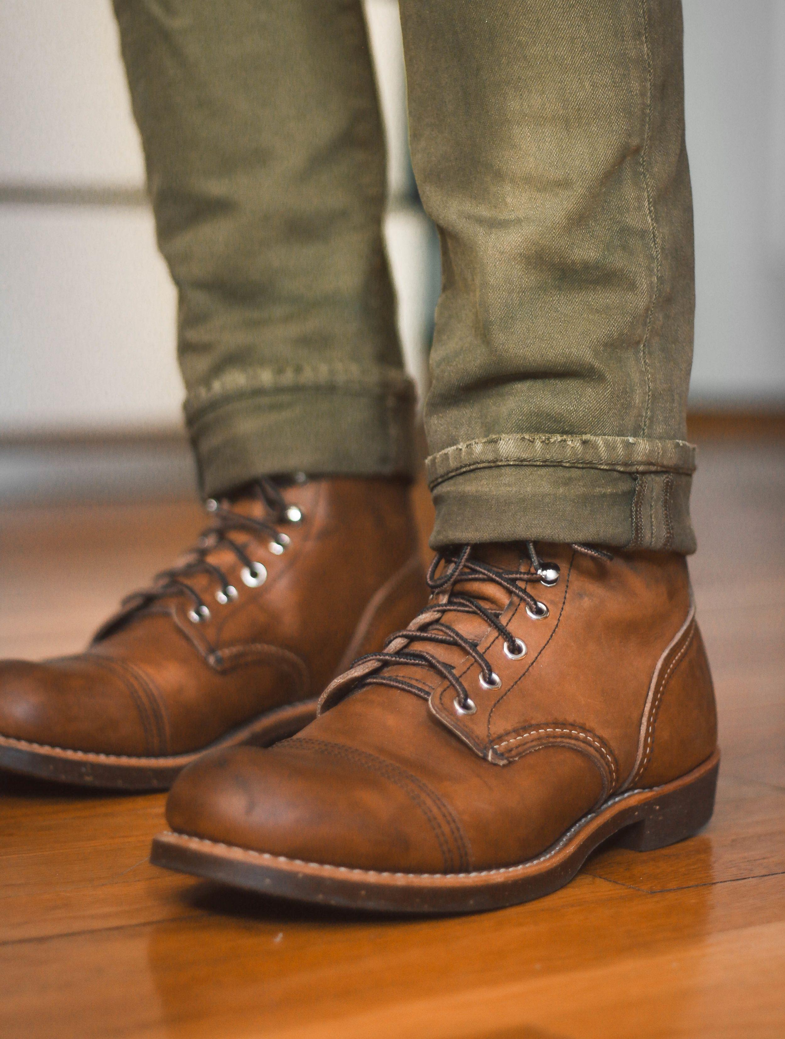 Red wing boots iron ranger, Iron ranger