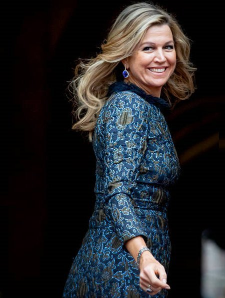 King Willem-Alexander and Queen Maxima hosted the first New Year reception of 2020