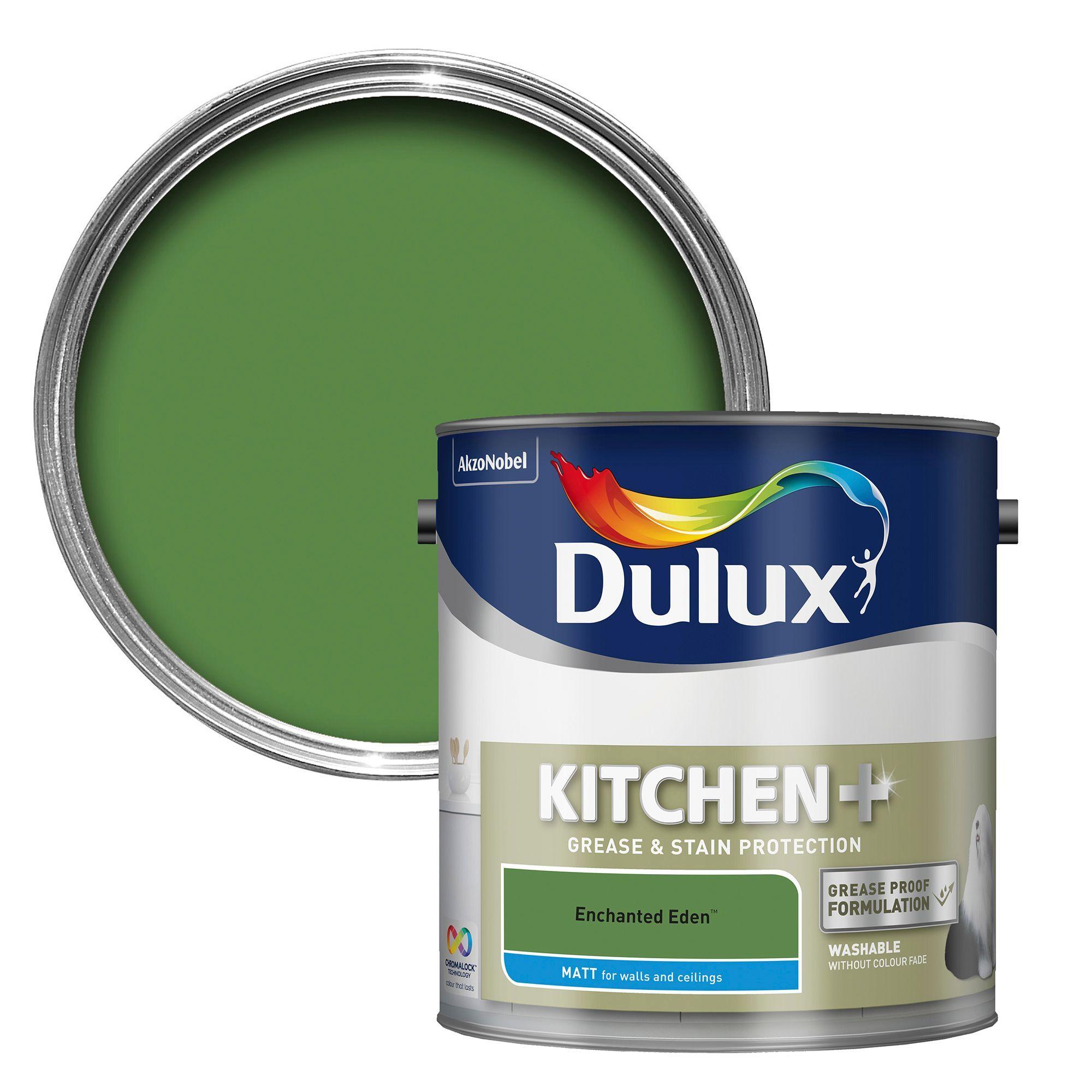 Dulux Kitchen Enchanted Eden Matt Emulsion Paint 2.5L