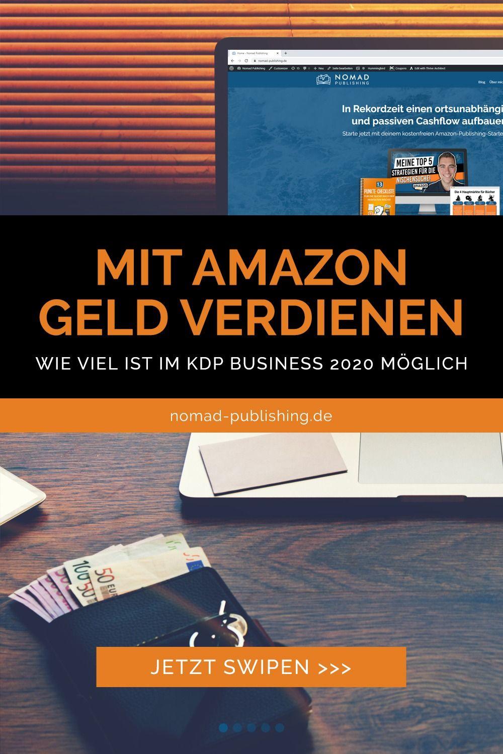 Wie viel Geld kannst du im Amazon Kindle Business verdienen? Erfahre jetzt, welche Einnahmen meine Coaching Klienten mit dem Verkauf von Büchern im Internet generieren. #nomadpublishing #geldverdienen #onlinebusiness