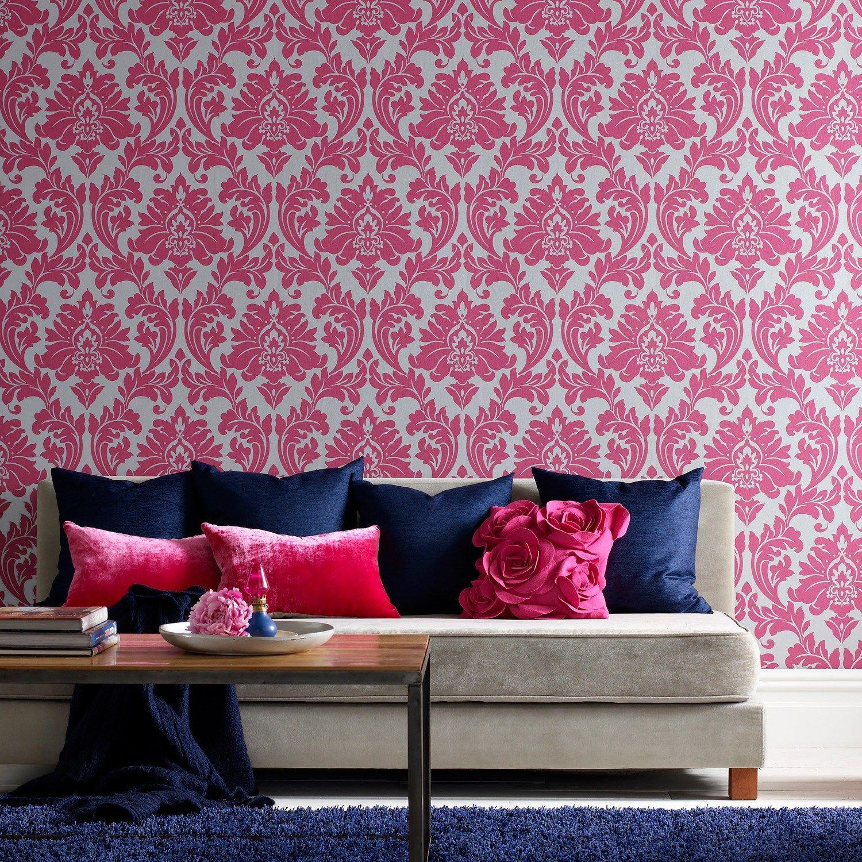 Die besten 25 rosa tapete ideen auf pinterest rosa for Rosa tapete