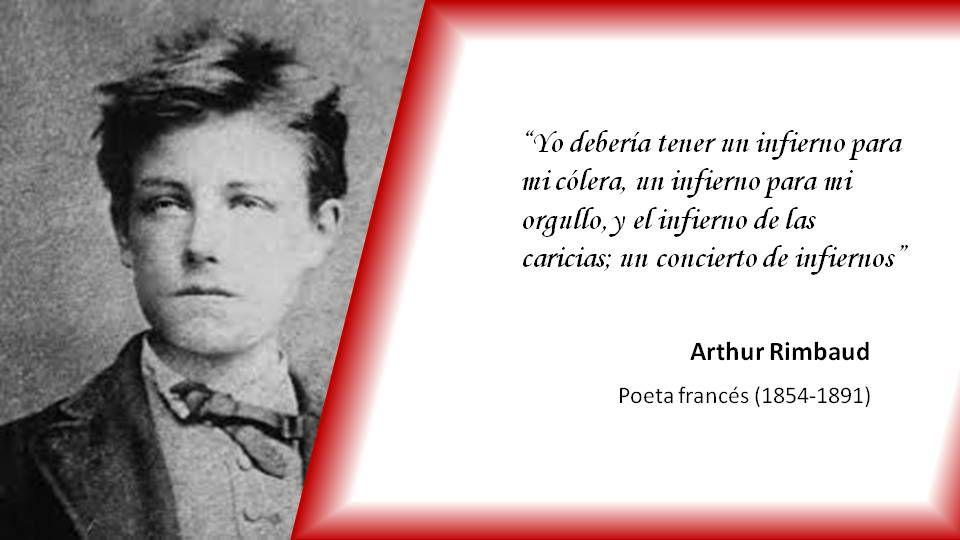 El 20 De Octubre De 1854 Nació El Poeta Francés Arthur
