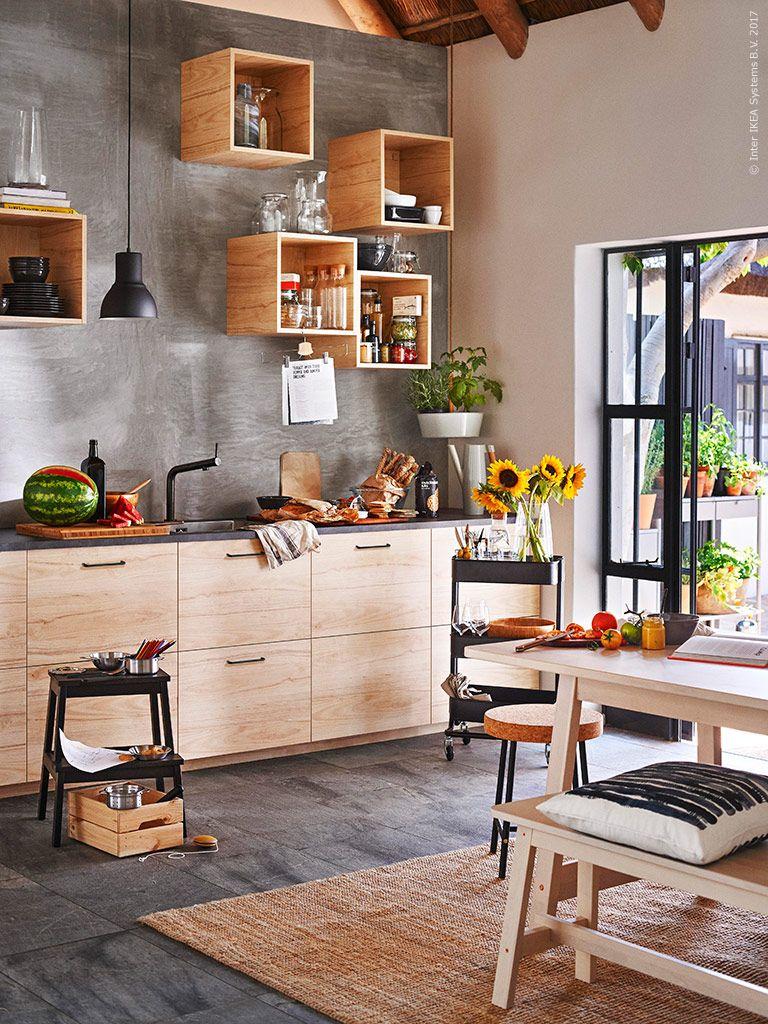 Küchenschränke basis metod  fÖrvara unterschrank mit  schubladen weiß askersund esche