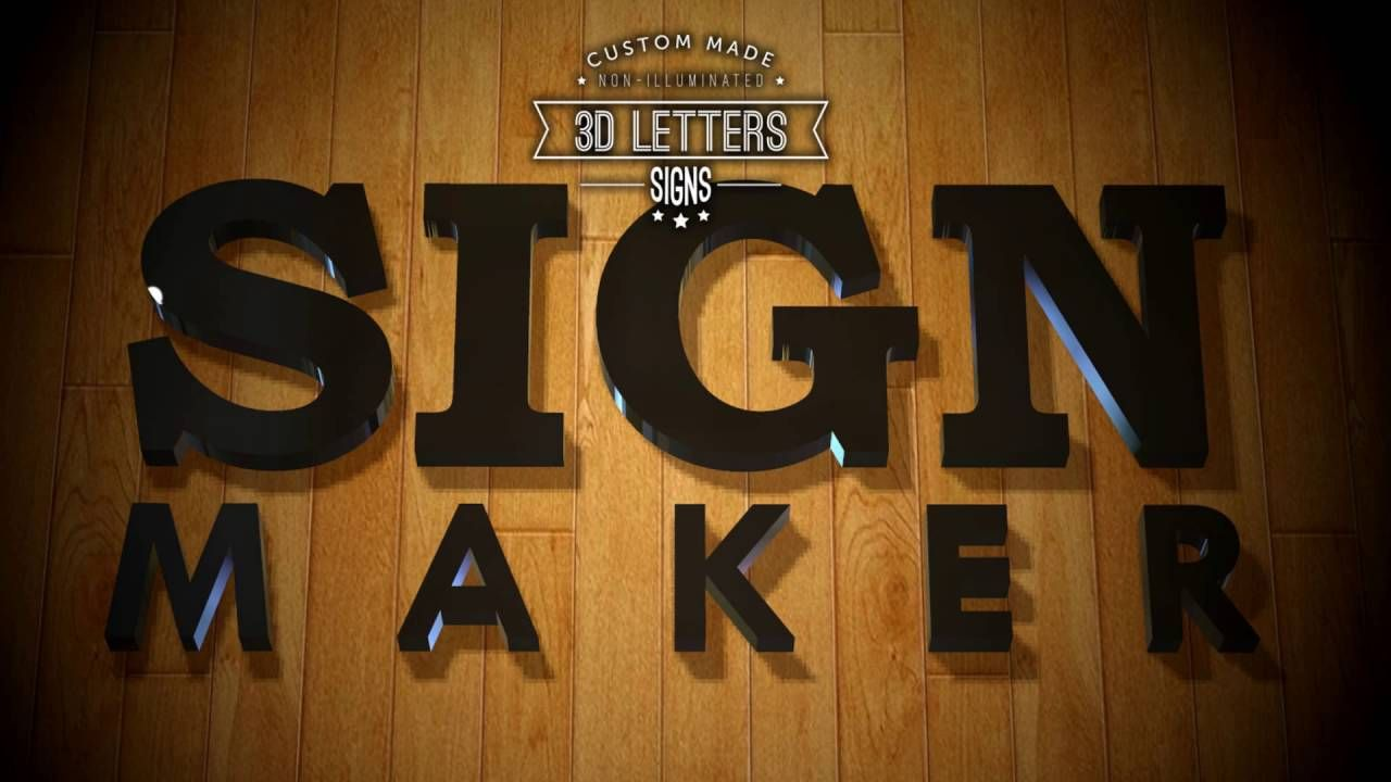 KL, Kuala Lumpur, 3D Letters, LED, Neon, Sign Maker, Signboard Company, .