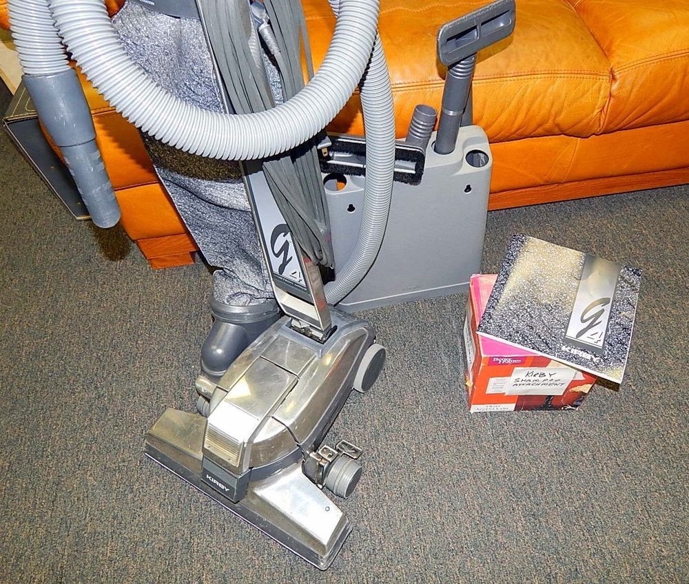 Kirby Vacuum G4 With Attachments Shampooer Extra Belt User Manual Original Box Kirby Vacuum The Originals Kirby