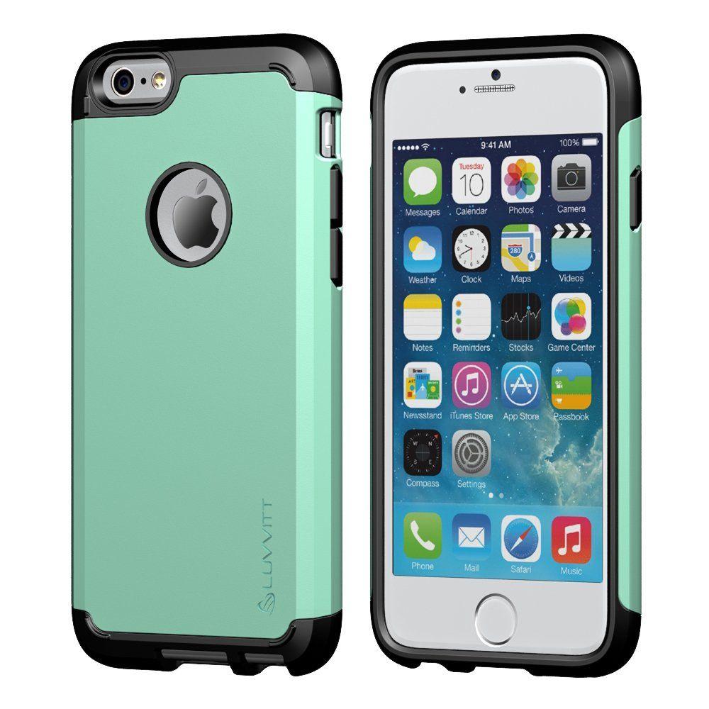 Amazon Com Iphone 6 Case Luvvitt Ultra Armor Iphone 6 Case Best Iphone 6 Case For 4 7 Inch Screen Air Dou Iphone 6 Case Cover Cool Iphone 6 Cases Iphone