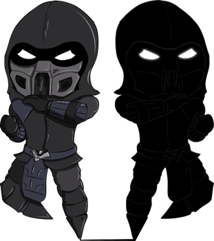 Mini Noob Saibot By Soursticker Noob Saibot Mortal Kombat Art Mortal Kombat Characters