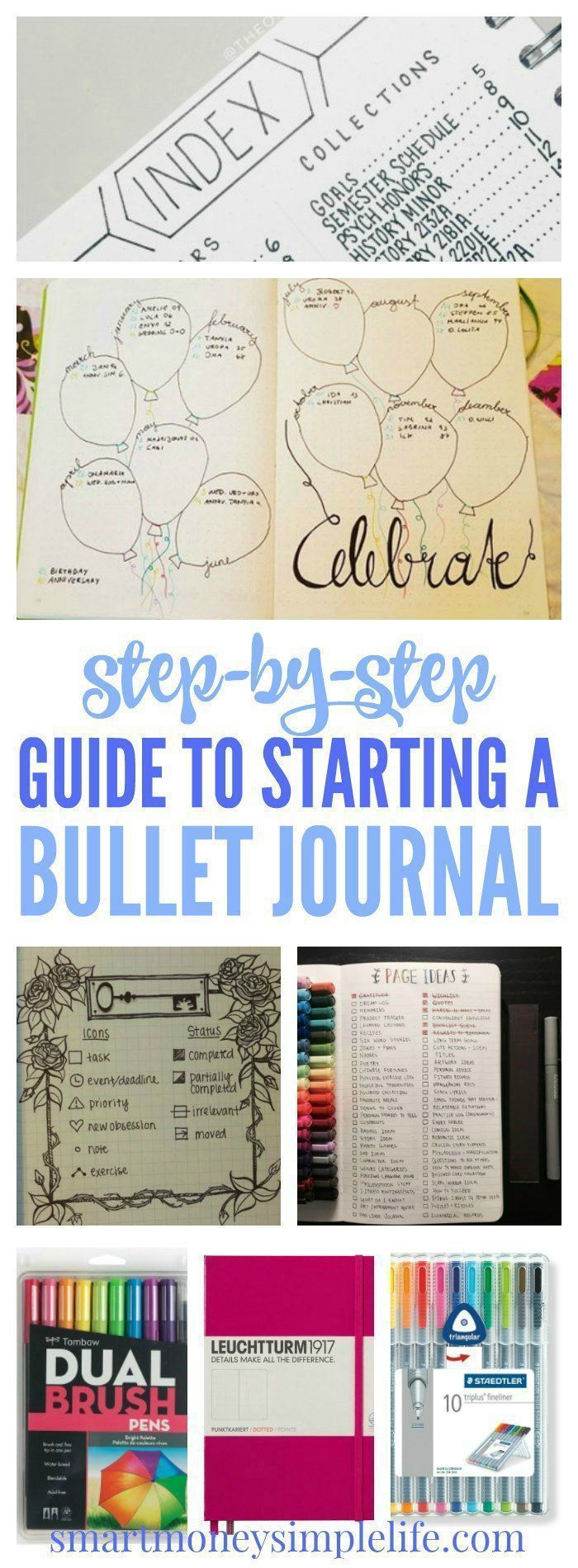 How to Start a Bullet Journal: Quick and Easy Steps - Smart Money, Simple Life
