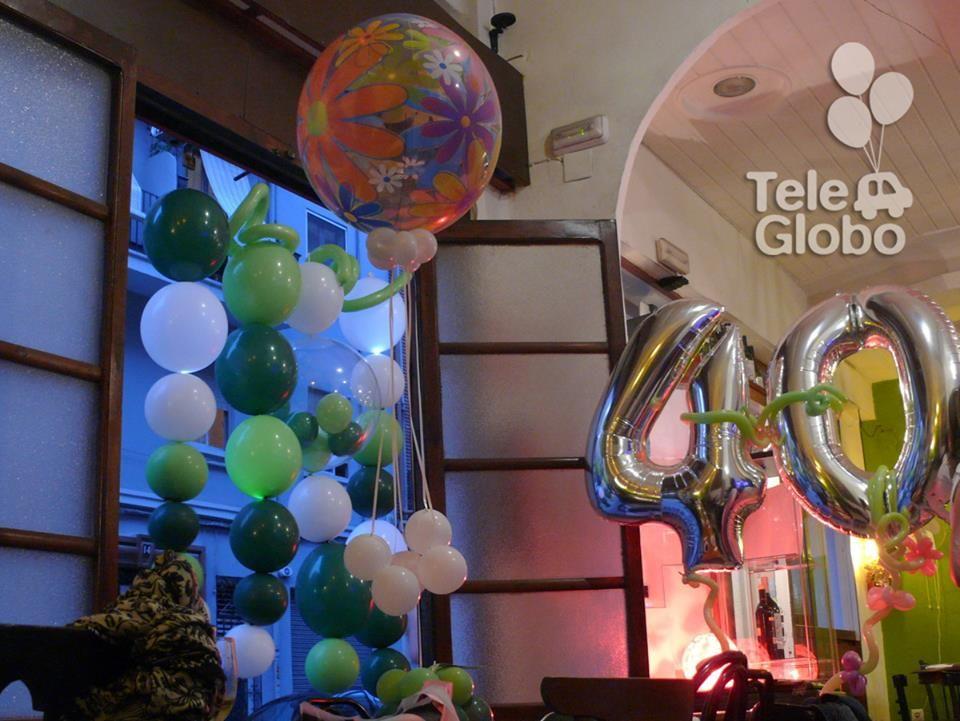 decoracin con globos para cumpleaos