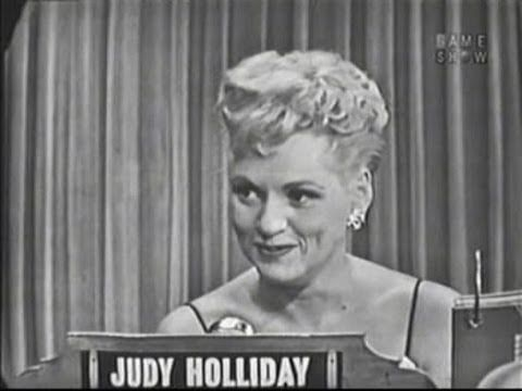 What's My Line? - Judy Holliday (Jul 5, 1953)