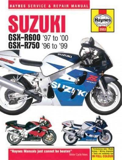 Haynes Suzuki Gsx R600 97 To 00 Gsx R750 96 To 99 Repair Manual Paperback Overstock Com Shopping The Best Deals On Mo Suzuki Gsx Gsx Repair Manuals
