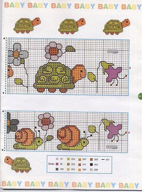 Solo Patrones Punto Cruz | Cross stitch, Stitch and Cross stitch baby