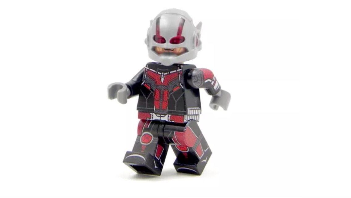 Lego Paul Rudd ~ Ant-Man (Civil War) | Lego Minifigures | Pinterest