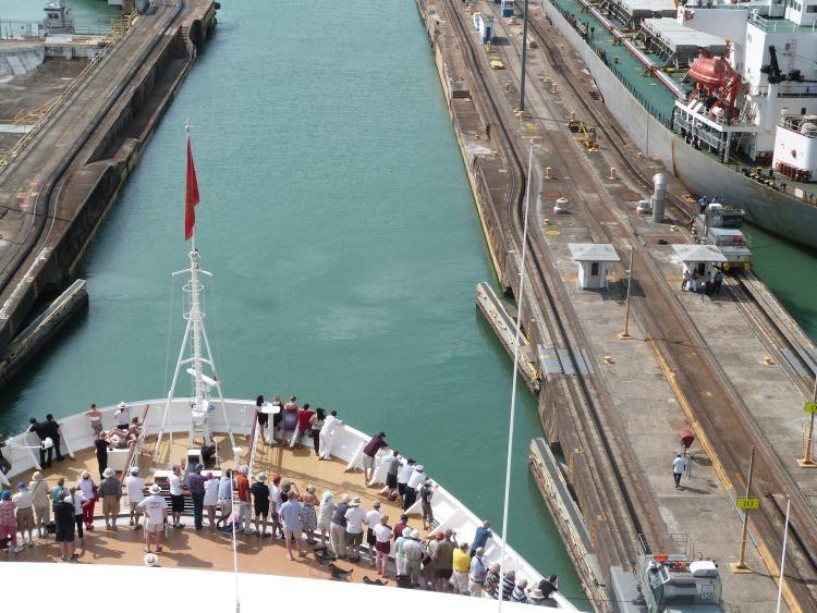 Queen Elizabeth Panama Canal