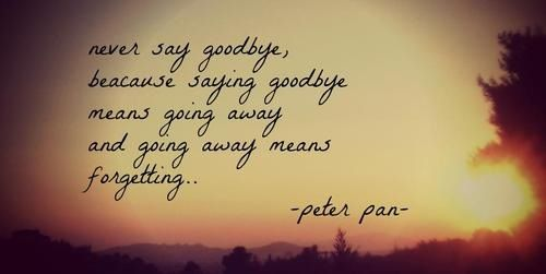 Peter Pan 3 Quotes Pinterest Peter Pans Sweet Words And