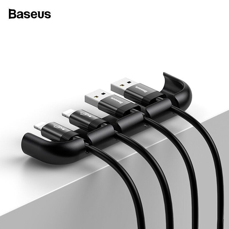 Baseus Usb Cable Organizer Management Winder Protector Wire Cord Holder Tempered Film Installation Tool For Iphone Xs Max Xr X Baseus Cable Organ Boas Ideias