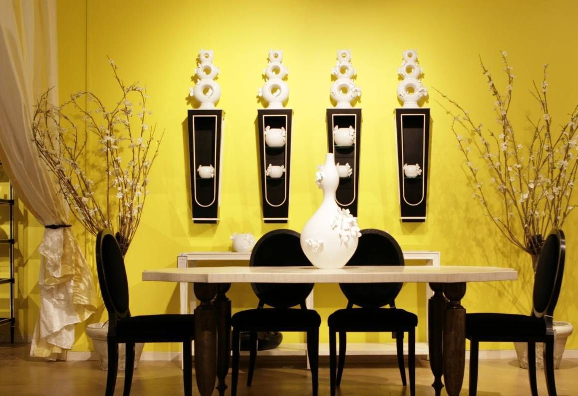 Black white and yellow wall decor pin by safeer hassan on wall colors with black furniture amipublicfo Image collections