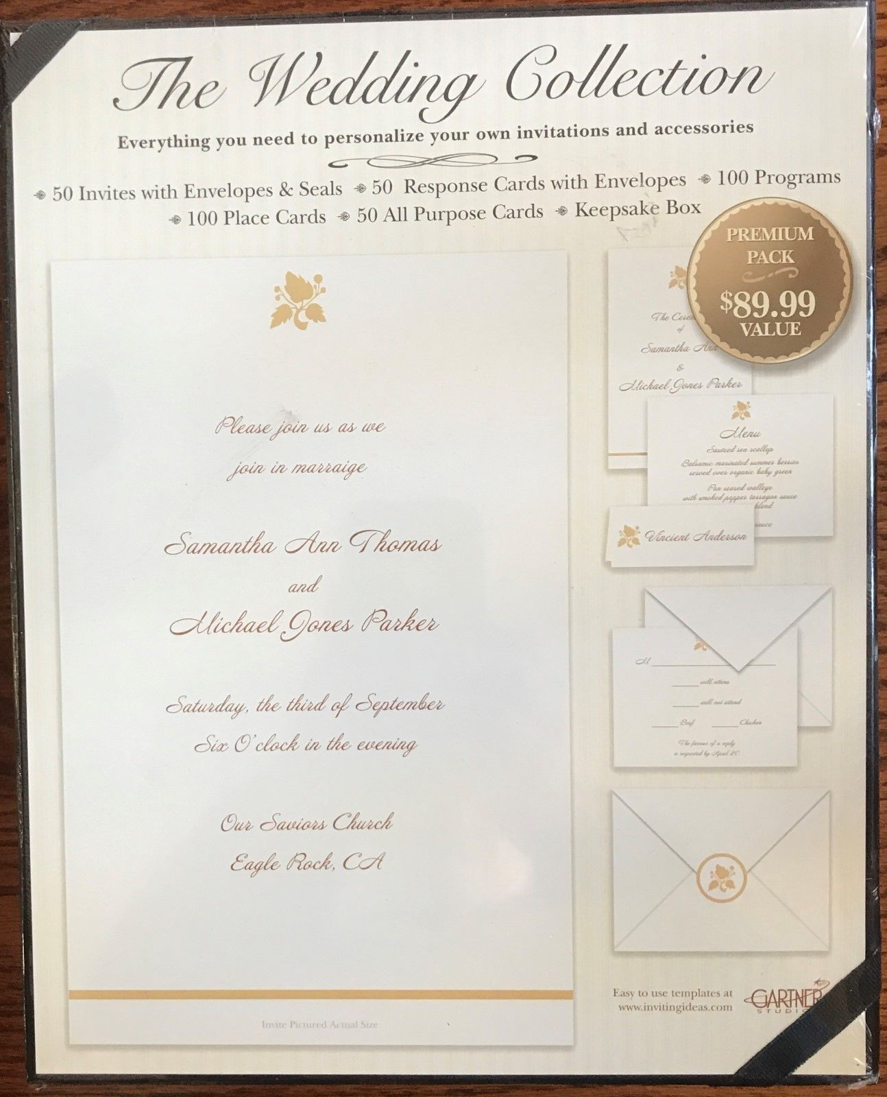 Invitations And Stationery 102469 The Wedding Collection Premium