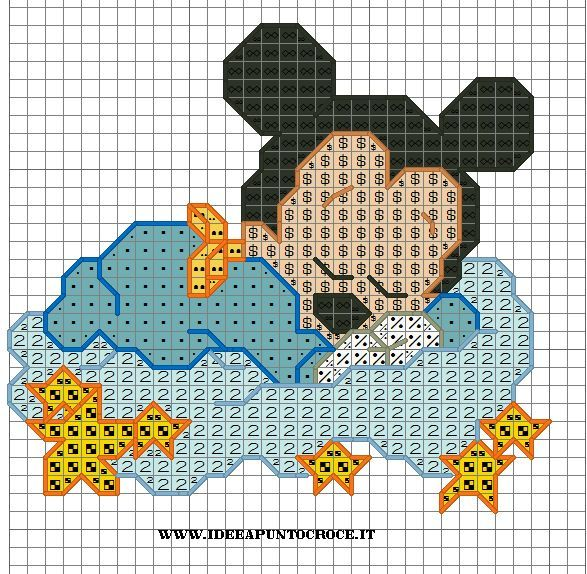 Schemi Punto Croce Disney Disney Cross Stitch C2c Pinterest