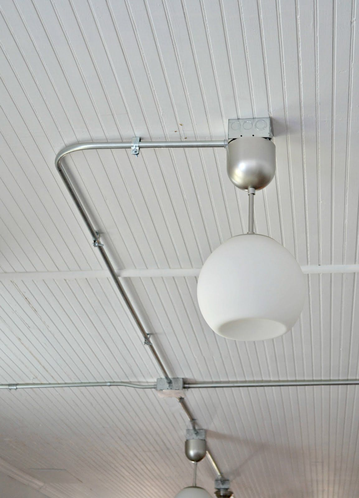 exposed conduit lighting. industrial exposed lighting pkan to gi in gym conduit