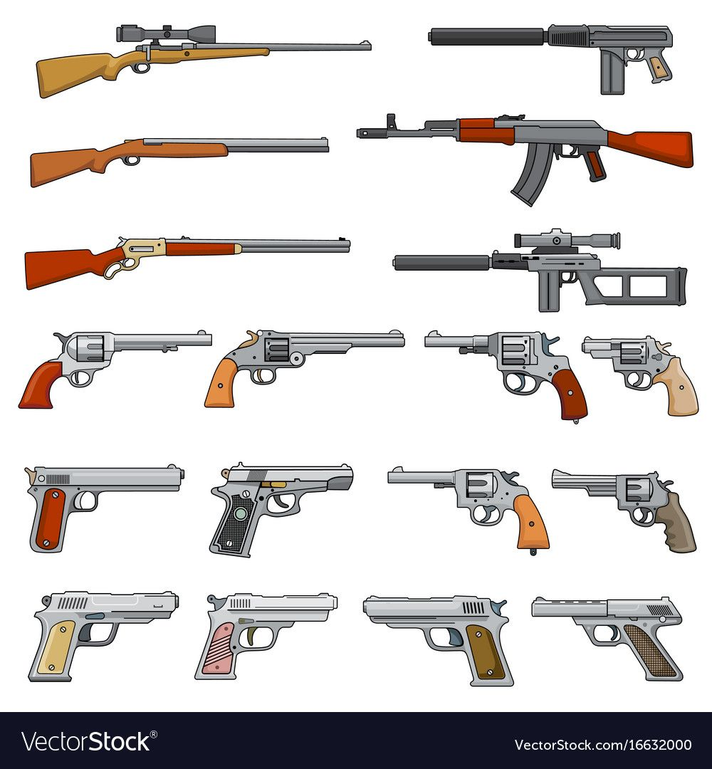 Pictures Of Cartoon Guns
