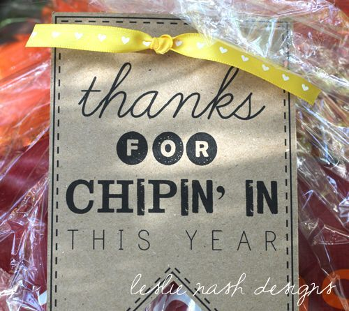 Make A Basket Of Clroom Volunteer Thank You Gifts To Pull From Throughout The Year 30 Tags And Bag Toppers For Under 50 Cents Each
