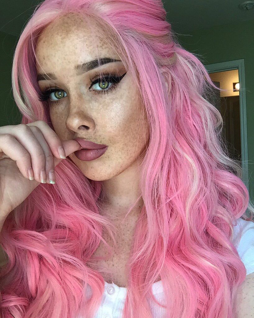 Pin by xade fibleuil on wigshair pinterest hair coloring pink