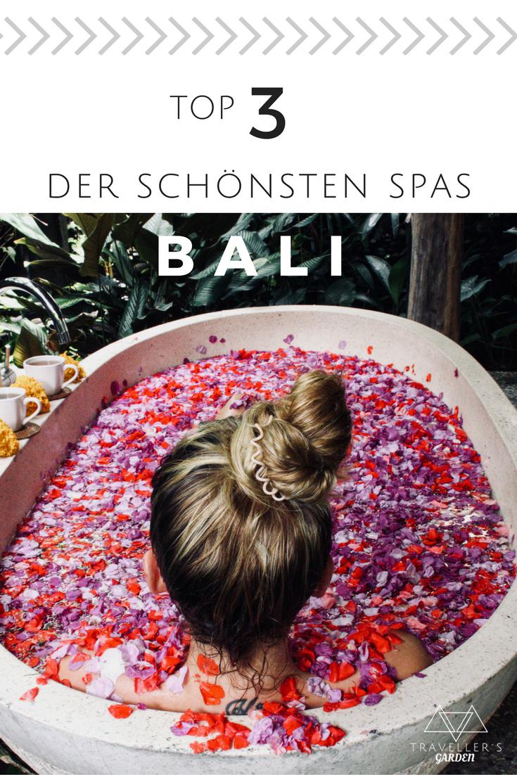 Die schönsten Wellness-Oasen in Bali / TOP 3 der besten Spas in Ubud