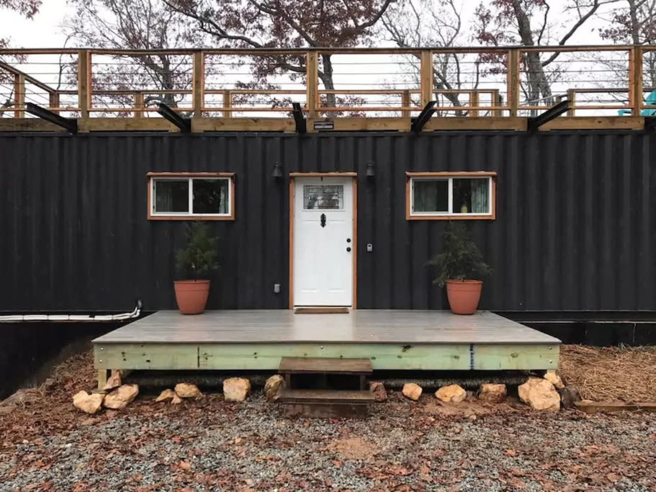 Appalachian container cabin shows us the benefits of