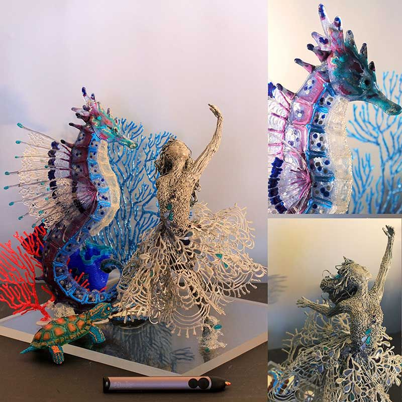 CREATED WITH A 3D PEN The 3Doodler Awards 2015 Winners