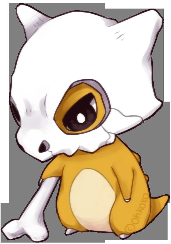 Cubone By Ohkoko On Deviantart Pokemon Fan Art Cute Pokemon Pokemon Fan