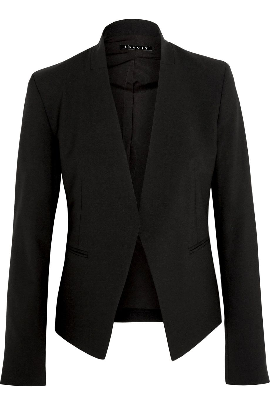 6315c06e95 Shop on-sale Theory Lanai stretch-wool crepe blazer. Browse other discount  designer Jackets & more on The Most Fashionable Fashion Outlet, THE  OUTNET.COM