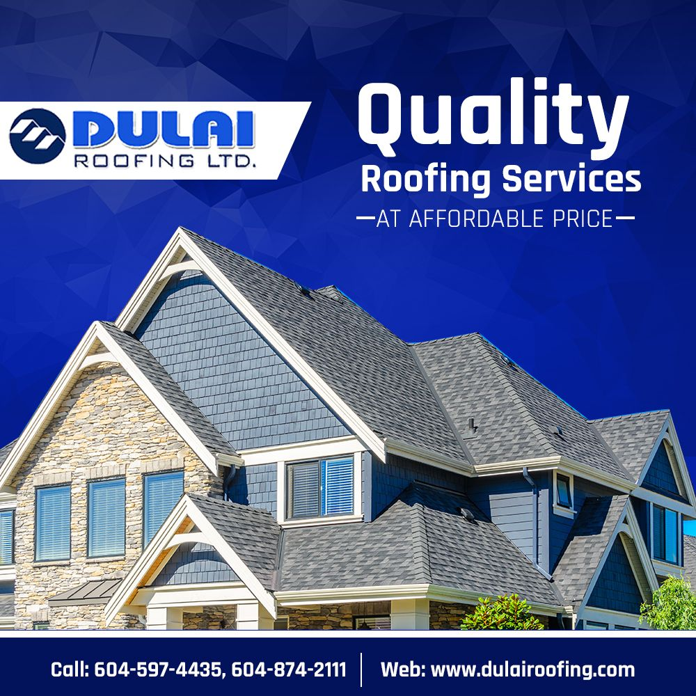 Get High Quality Roofing Services Of Dulai Roofing Ltd At Affordable Pricing In Canada We Install And Repair All Kinds Of Flat An Roofing Services Industrial Sheds Roofing Systems