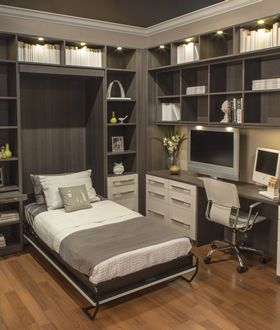 Elegant Closet Works   Chicago Wall Bed Units   Custom Wallbed Cabinets
