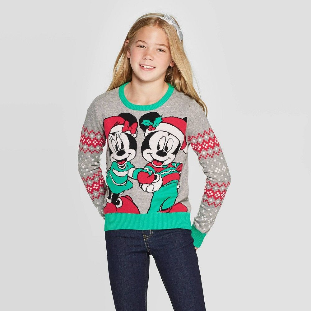 Disney Girls Ugly Christmas Sweater
