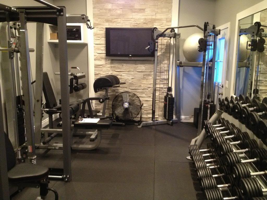 My Own Home Gym Evolution Bodybuilding Com Forums Home Gym Design At Home Gym Bodybuilding At Home