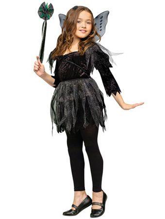 Fantasy Fairy Child Costume with Wings Medium 8-10