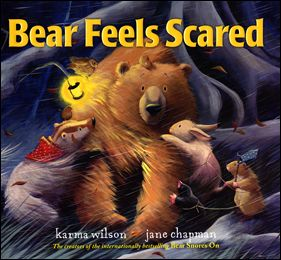 Toddler Time Bears Feeling Scared Books Book Activities