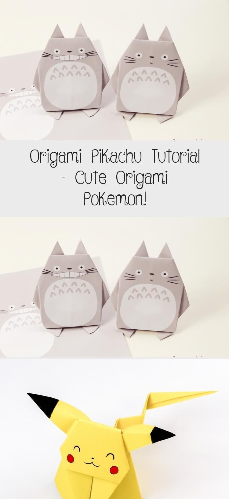 Photo of Origami Pikachu Tutorial – Süßes Origami Pokémon! – Paper Kawaii #origamiWedd…
