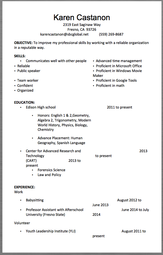 J2ee Developer Resume template Resume template