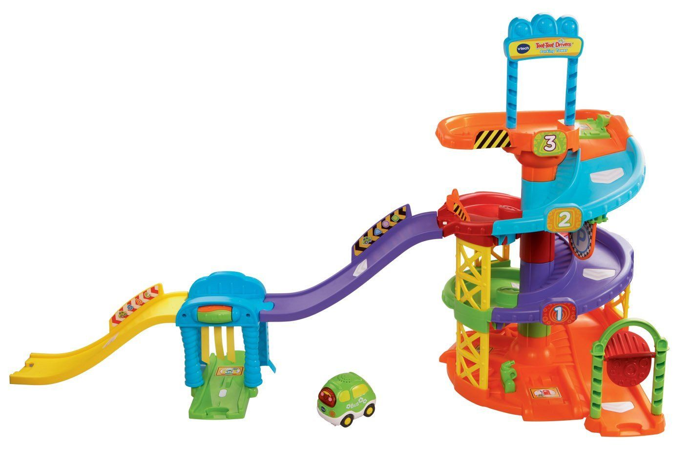 ed5b6c7be VTech Baby Toot-Toot Drivers Parking Tower  Amazon.co.uk  Toys ...