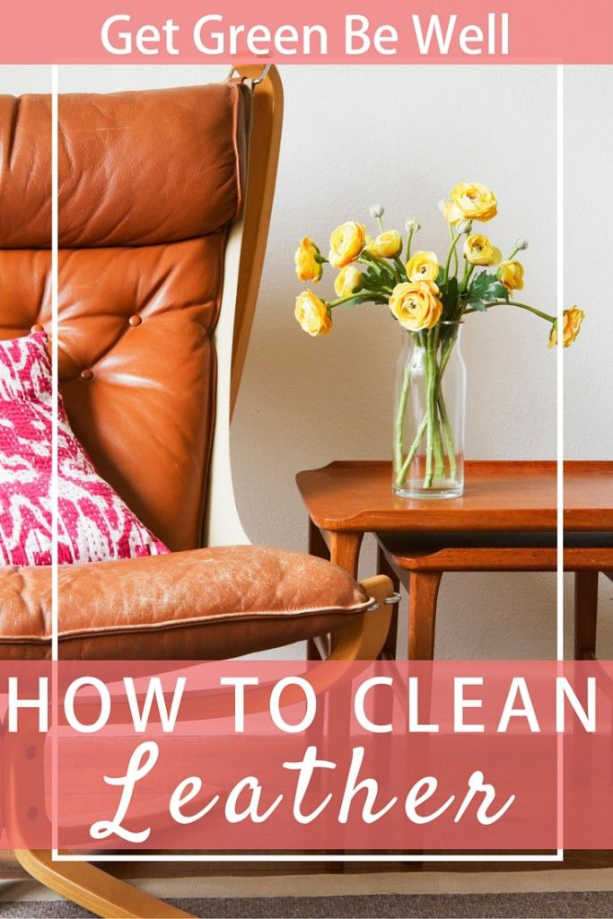 How To Clean Leather Cleaning leather furniture